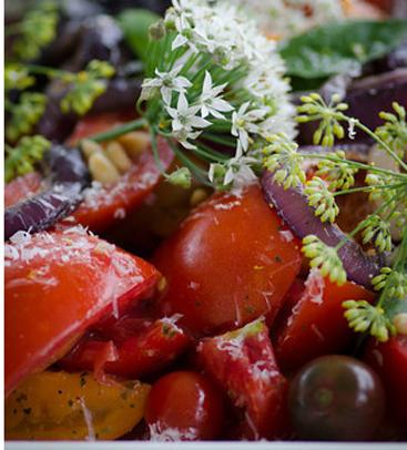 Enjoy Delicious Tomato Salad!