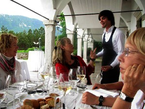 Slovenia - Onusic with Sommelier 2