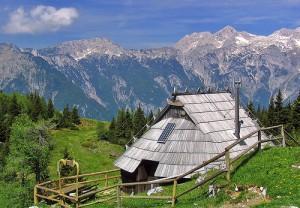Velika Planina hut