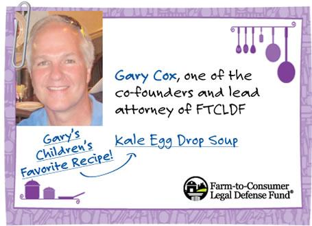 Gary Cox - Gary's Children's Favorite Recipe!