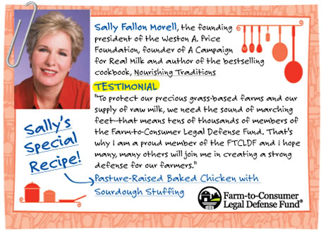Sally Fallon Morell - Sally's Special Recipe!